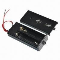 Wholesale 2AA Battery Holder with Switch and Cover from china suppliers