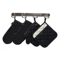 Wholesale Kitchen Textiles-Set of 2-Small Oven Mitts and Pot Holders with Pockets Set from china suppliers