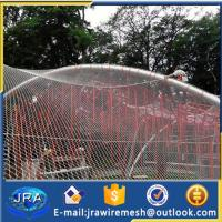 Quality SUS304 stainless steel animals safety netting protecting mesh for sale