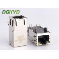 Wholesale 33mm length right angle 1000Mb Gigabit RJ45 connector module Integrated magnetics from china suppliers