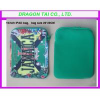 Wholesale Neoprene Soft Sleeve Bag for ipad, zipper ipad bag from china suppliers