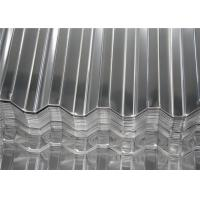 Wholesale Aluminum Magnesium Corrugated Roof Panels / Metal Roofing Sheet Width 500 - 1500 mm from china suppliers