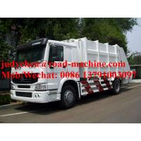 Wholesale SINOTRUK HOWO 4x2 Compacted Garbage Truck 12m3 ,  Euro 2 Emission Standard from china suppliers