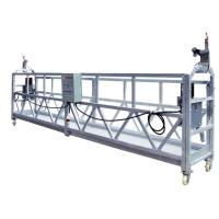 Wholesale OEM ZLP630 Aluminum High Working Rope Suspended Platform Cradle With 630 Rated Load from china suppliers