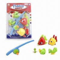 Buy cheap 5-piece Fishing Rod Toys Game with 1 Piece Fishing Rod and 4 Pieces Fishes from wholesalers