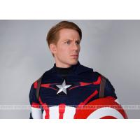 Quality Captain America Waxwork Waxfigure Sculpture Life Size Movie Statues for sale