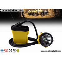 Wholesale Explosion Proof Mining Hard Hat Led Lights 25000 Lux Strong Brightness Corded Style from china suppliers