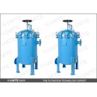 Wholesale HG/T21637-1991 Standard Single Bag Filter Housing With Oval Bottom from china suppliers