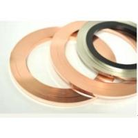 Wholesale AgCu Copper Alloy Strip Precious Metal Dual Side Inlay For Electrical Brush from china suppliers