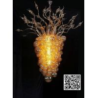 Wholesale Sell handblown glass bubble chandelier ,China supplier from china suppliers