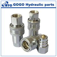 Wholesale Custom Carbon Steel / Brass Hydraulic Quick Coupling Hydraulic Control Parts from china suppliers
