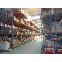 Wholesale multi level double deep pallet rack , 500 - 2000KG double entry selective pallet racking from china suppliers