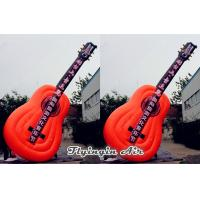Wholesale 6m Height Decorative Inflatable Guitar for Music Event and Party from china suppliers