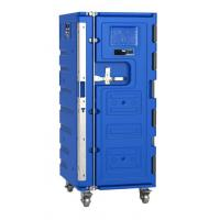Wholesale 580 Litre OLIVO-Style Blue Large Insulated Plastic Roll Cold-Chain Logistics Container from china suppliers