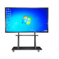 Wholesale Interactive  Large Touch Screen PC Windows XP WIFI 70 Inch 500GB HDD from china suppliers
