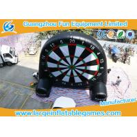 Wholesale Giant Inflatable Football and Golf Dartboard with Velcro Balls from china suppliers