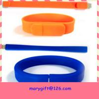 Wholesale best selling usb silicone wristband with flash memory from china suppliers