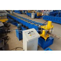 Wholesale Steel Security Door Frame Roll Forming Machine with 14 Steps , 85 mm Effective Width from china suppliers
