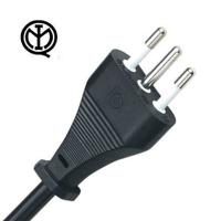 Wholesale Standard 10A 250V Italy Power Cord Three Prong 3 Wire IMQ Approval from china suppliers