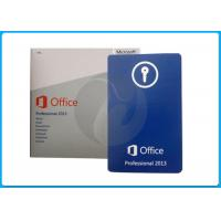 Quality original microsoft office product key code sticker coa for office 2013 pro retail oem pack for sale