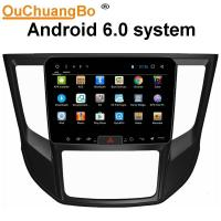Wholesale Ouchuangbo car radio capacitance multiple touch screen android 6.0 for Mitsubshi Lander 2017 support bluetooth SWC USB from china suppliers