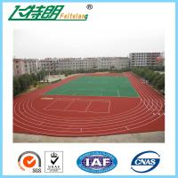 Wholesale 400 Meters outdoor sports flooring Full Polyurethane System Athletic from china suppliers