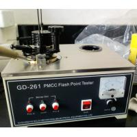 Wholesale GD-261 ASTM D93 Close Cup Flash Point Tester for Transformer Oil from china suppliers