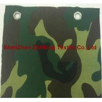 Wholesale Eco-friendly EMI silver-plated camouflage canvas fabric for military from china suppliers