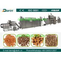 Wholesale Professional and affordablepet food processing line / dog food making machine from china suppliers