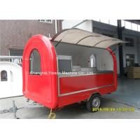 Buy cheap Outdoor Fast Food Concession Trailers Truck Van BBQ Vending  Pizza Cart from wholesalers
