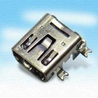 Wholesale Precision Mini USB Connector with Female 5-Pin from china suppliers