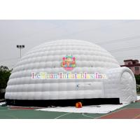 Wholesale Giant Inflatable Igloo Tent For Event , Unseal Inflatable Advertising Tent For Sale from china suppliers