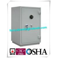 Wholesale Single Door Fireproof Storage Cabinets Double Layer 2 Hour Fire Safe CD / Files from china suppliers