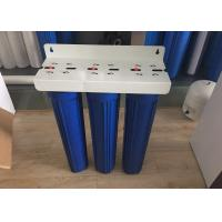 Wholesale 20 Inch Preposed Three Blue Water Purifier Water Filter Housing with Air Release from china suppliers
