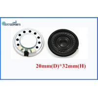 Wholesale 20mm Round Portable Mini Mylar Speaker Fo-20kHz 0.5W For Computer from china suppliers