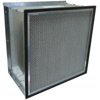 Wholesale Galvanized Frame Fiberglass Media Ventilation System Hepa Efficiency HVAC Air Filters from china suppliers