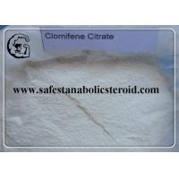 Wholesale Clomid Powder Anti Estrogen Steroids Clomifene Citrate CAS 50-41-9  for Treating Infertility in Women from china suppliers