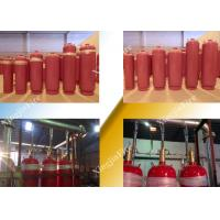 Quality Pipe Network FM200 Fire Suppression System For Multi Zone Non Corrosive for sale