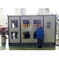 Quality Custom Voltage Round Bottle Blowing Machine , 20 Liter Plastic Bottle Making Machine SRB90D-1 for sale