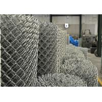 Wholesale PVC balck powder coated chain wire fence 50mm x 50mm x 3.00mm from china suppliers