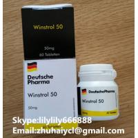 Wholesale 10418-03-8 Injectable Anabolic Steroids , Healthy Oral Winstrol Stanozolol Tablets from china suppliers