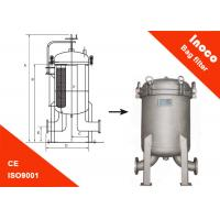 Wholesale BOCIN Water Treatment Multi-bag Filter Housing Flange Bag Filtration from china suppliers