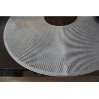 Wholesale Alum / Stainless Steel Perforated Metal Mesh φ 1.14mm Hole For Water Seepage Structures from china suppliers