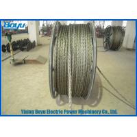 Wholesale 22mm Breakage Tension 320kN Anti twist Wire Rope Galvanized Steel High Voltage Line Stringing from china suppliers
