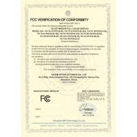 Yaham Optoelectronic Co., Ltd Certifications