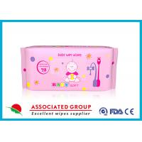 Wholesale Multi Pack Baby Wet Wipes For Face , Reusable Wet Wipe Tissues from china suppliers