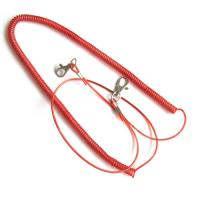 Wholesale Stretchable plastic fishing rod coil lanyard holder w/custom different size for security from china suppliers