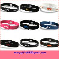 Wholesale hot sale power silicone bracelet from china suppliers