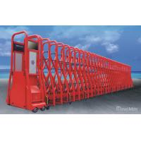 Wholesale Red Electric Automatic Retractable Gate Trackless with Anti-Collision IR Sensor from china suppliers