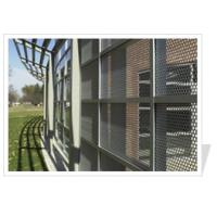 Buy cheap Perforated metal exterior wall panels from wholesalers